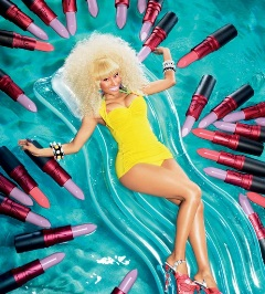 Nicki Minaj pose une fois de plus pour Viva Glam de M.A.C nicki-minaj-chanteuse-rappeuse-sonnerie-telecharger